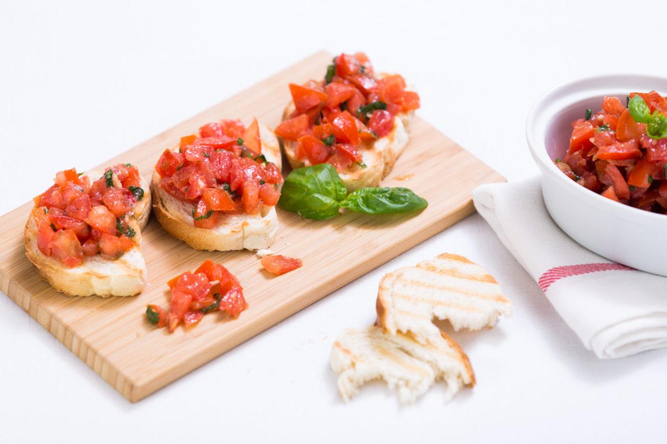 Bruschetta – italské toustíky