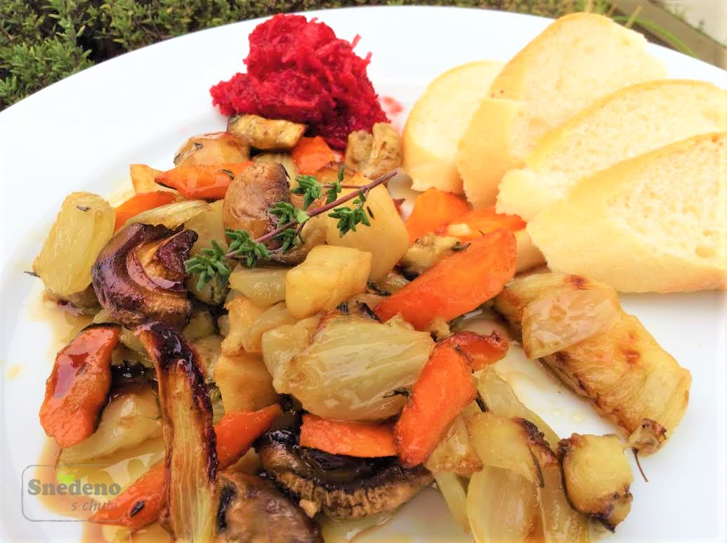 Grilovaná zelenina s tymiánem