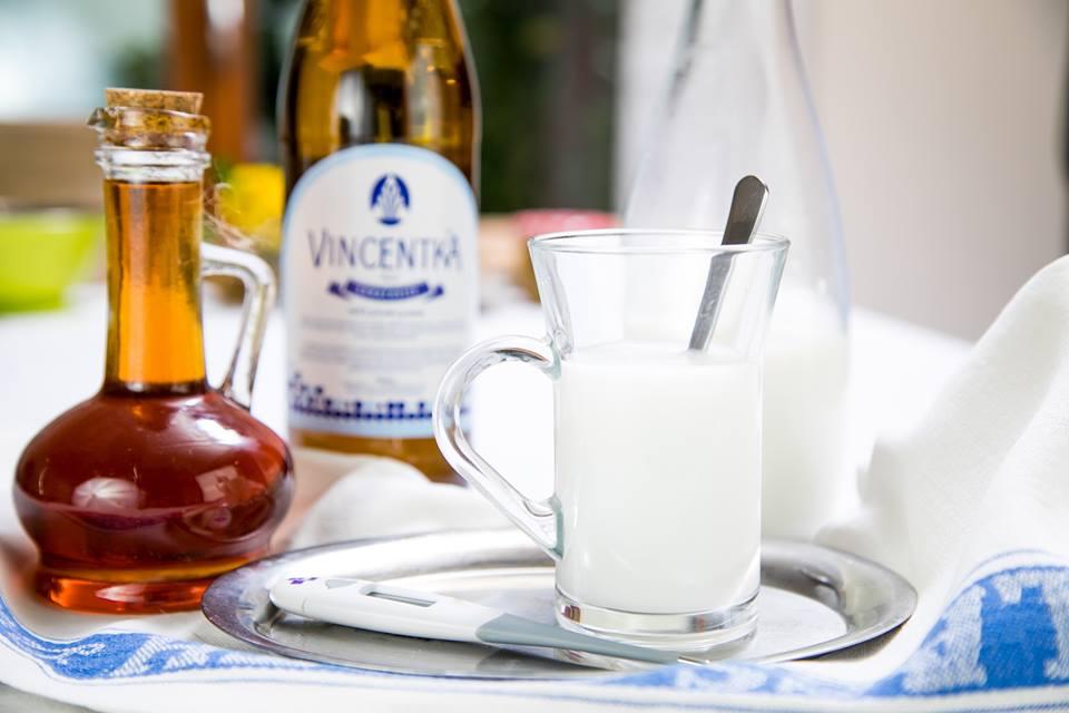 Vincentka s mlékem a medem