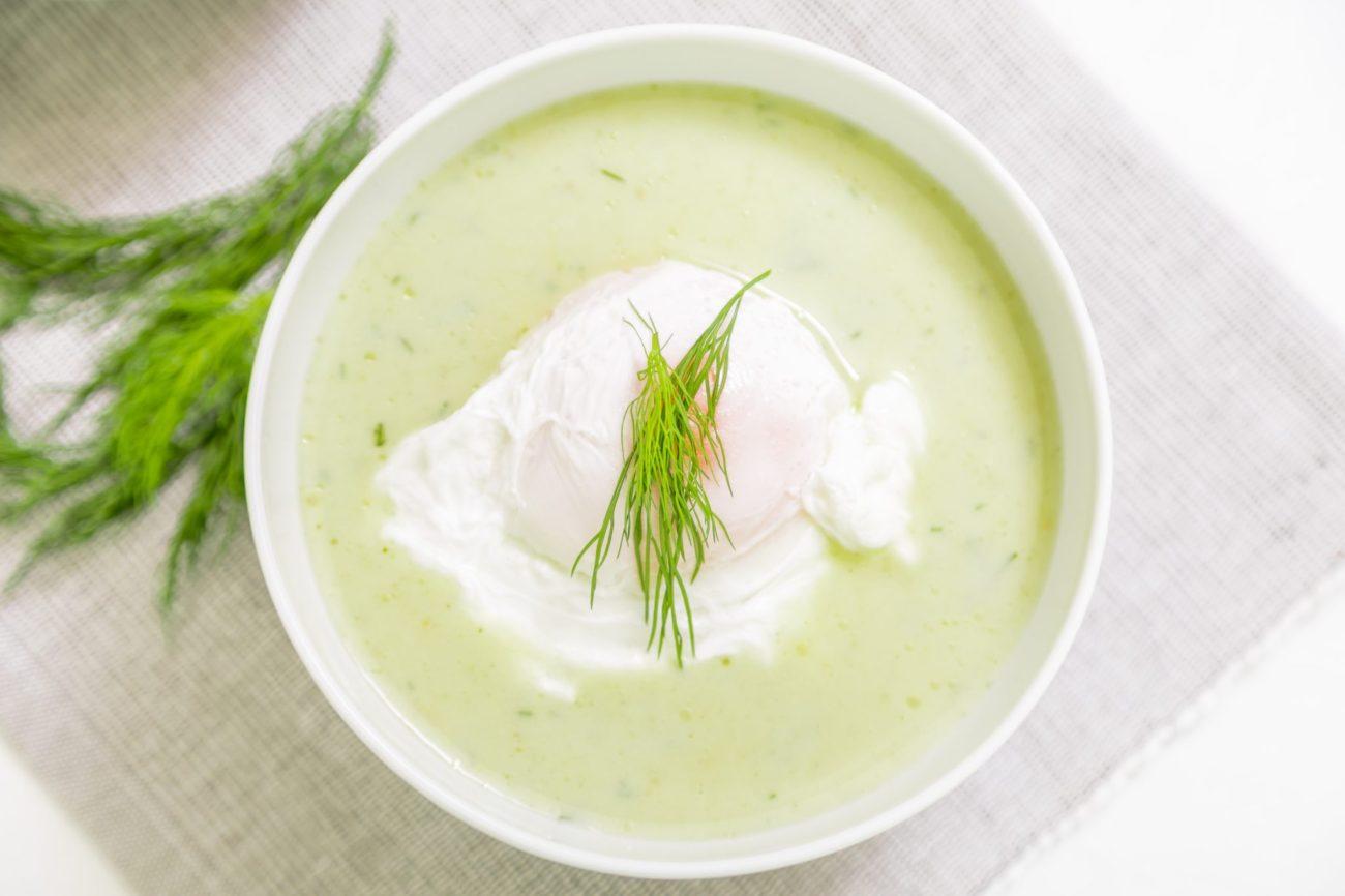 Bílá chřestová polévka