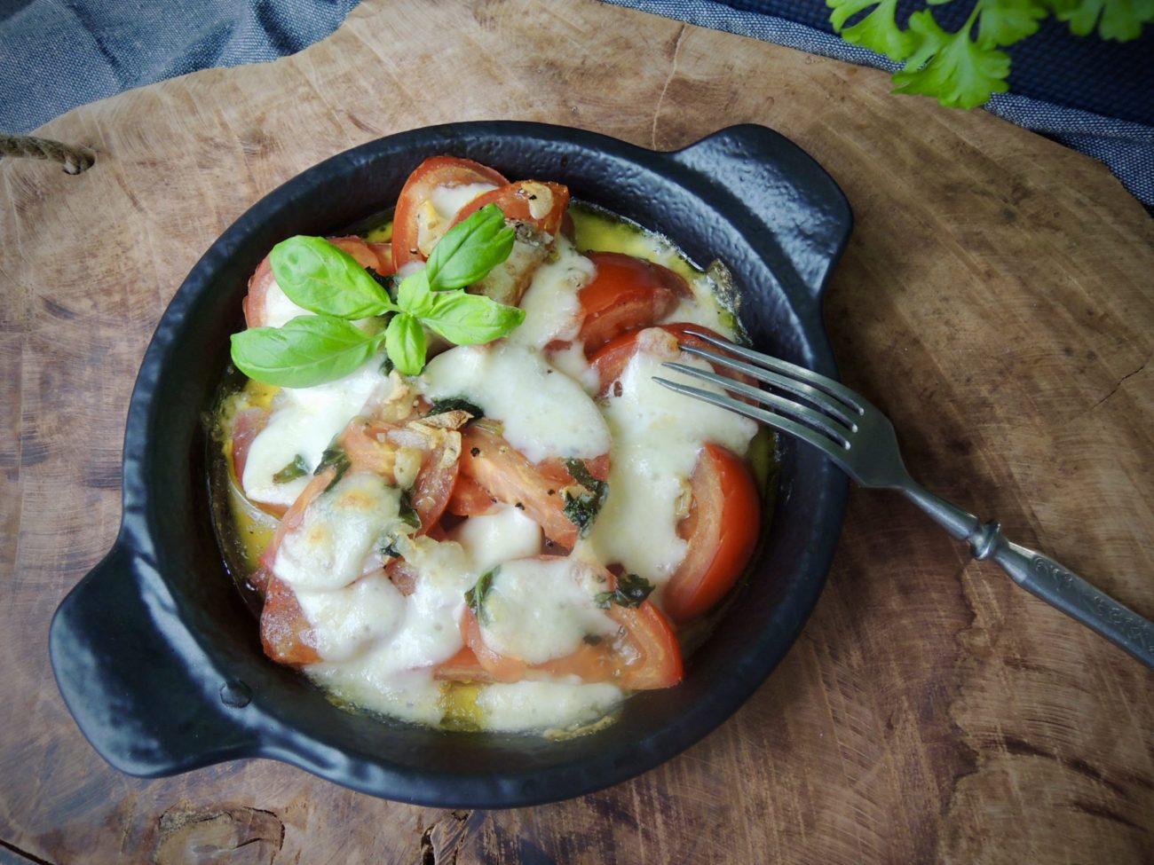 Grilovaný salát caprese