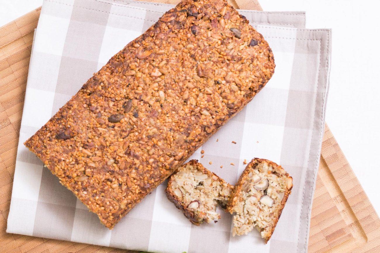 Konopno-oříškový chléb