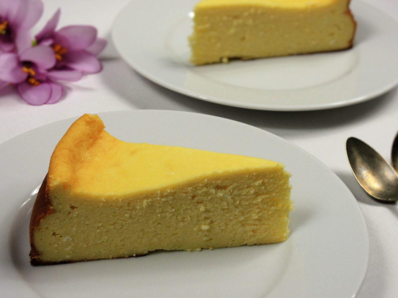 Pečený cheesecake