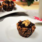 Mrkvové muffiny z jemných ovesných vloček