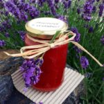 Jahodová marmeláda s levandulí