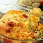 Květák v bešamelu se sýrovou krustou