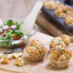 Párty parmazánové muffiny
