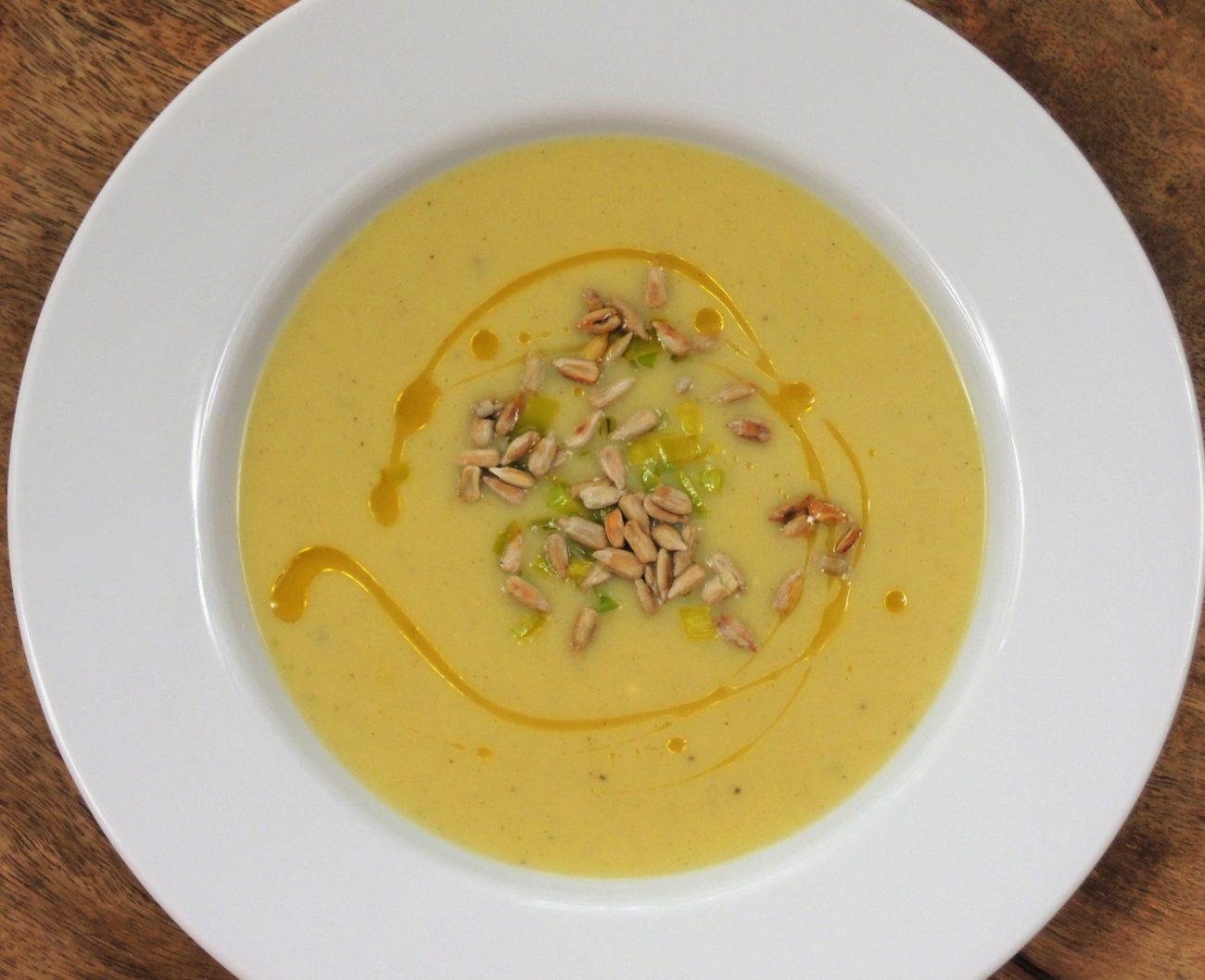 Podzimní pórková polévka