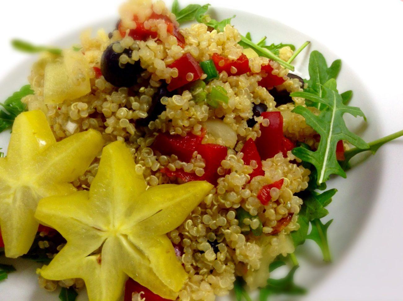Salát z quinoi