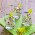 Salát z řapíkatého celeru s chia semínky