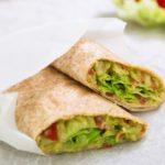 Tortilla s guacamole