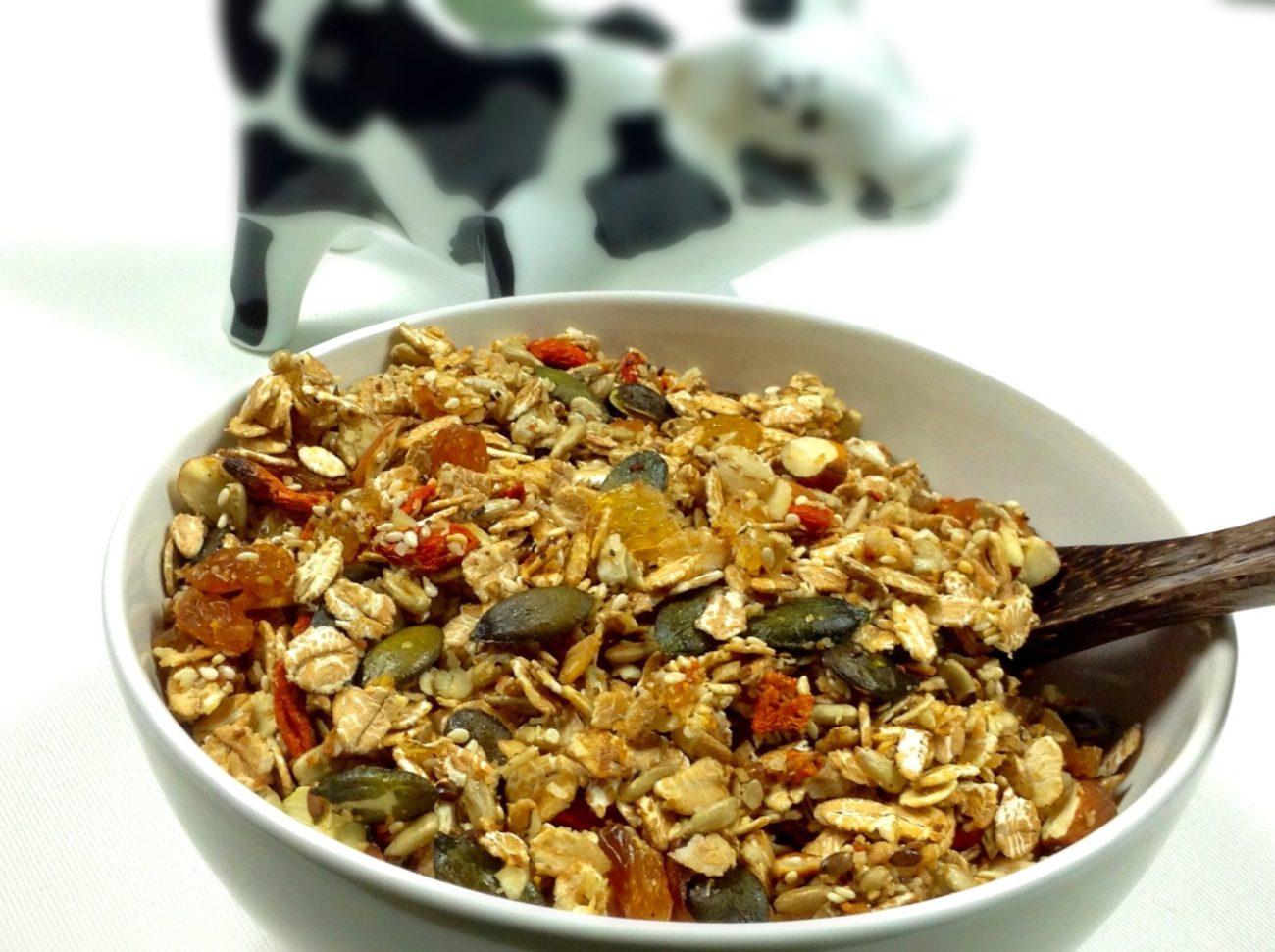 Granola – domácí křupavé müsli