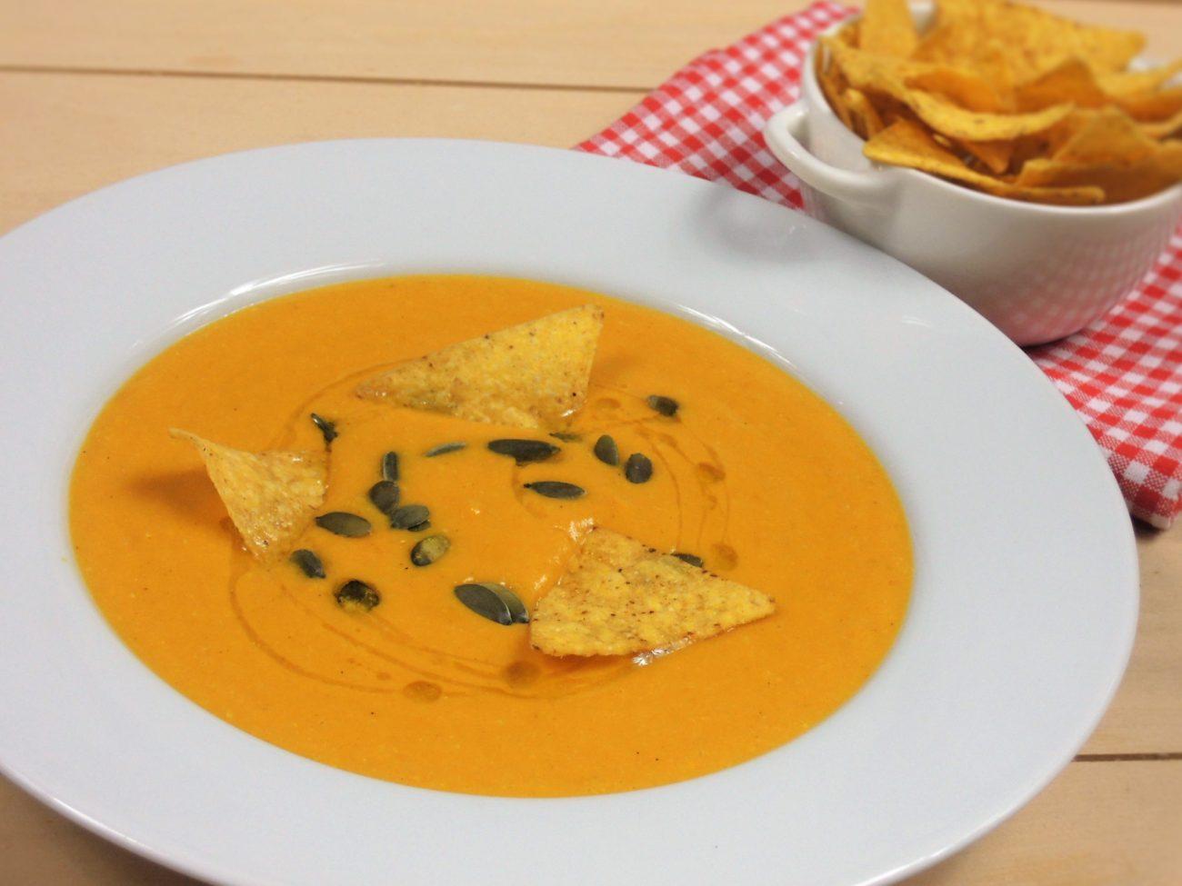 Dýňovo-kukuřičná polévka