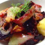 Barevný salát z pečené zeleniny