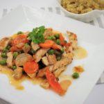 Krůtí maso se zeleninou a quinoou