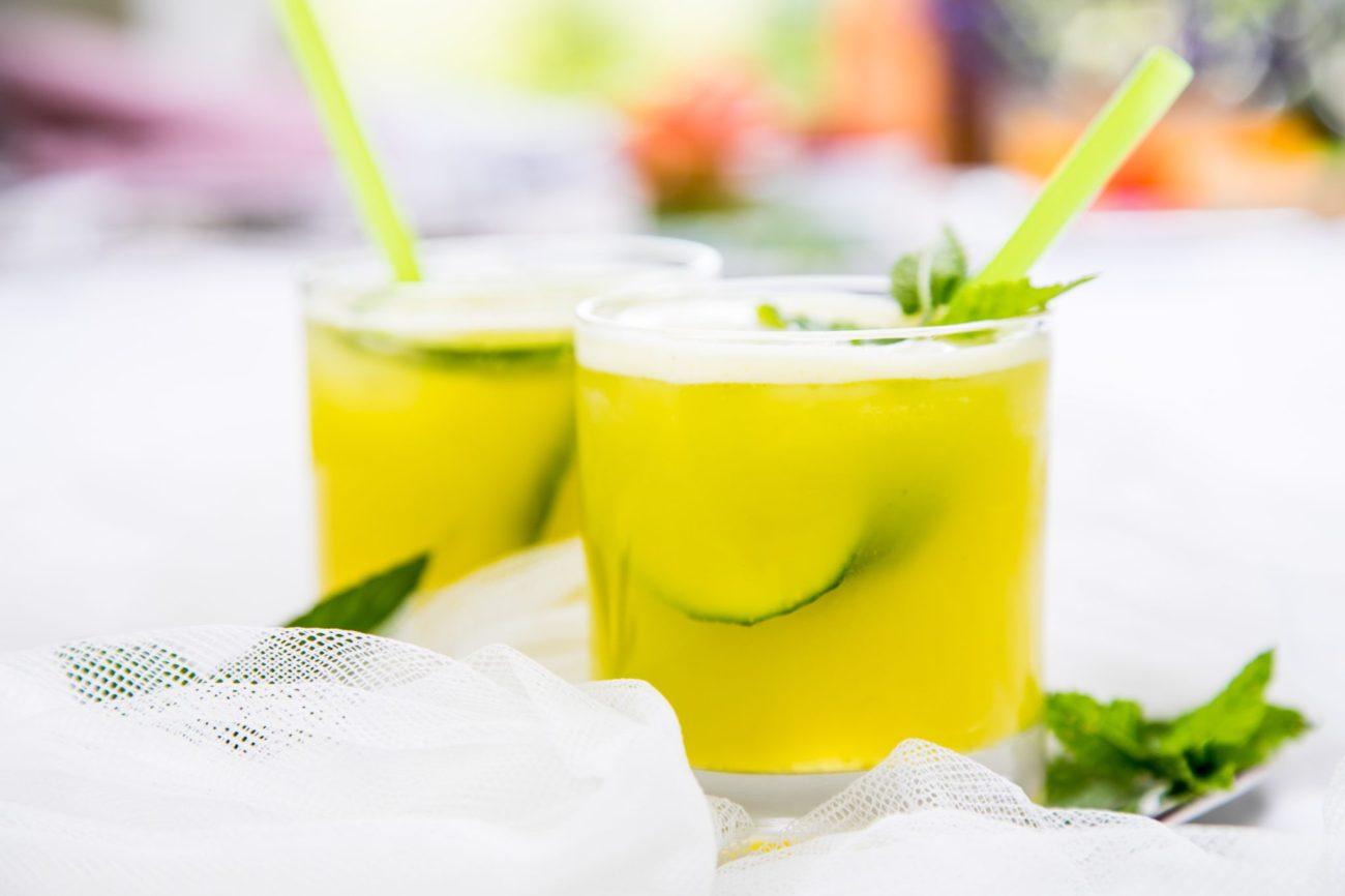 Limonáda z cuketové šťávy