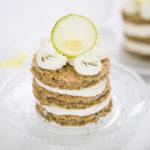 Limetové dortíčky s matcha čajem