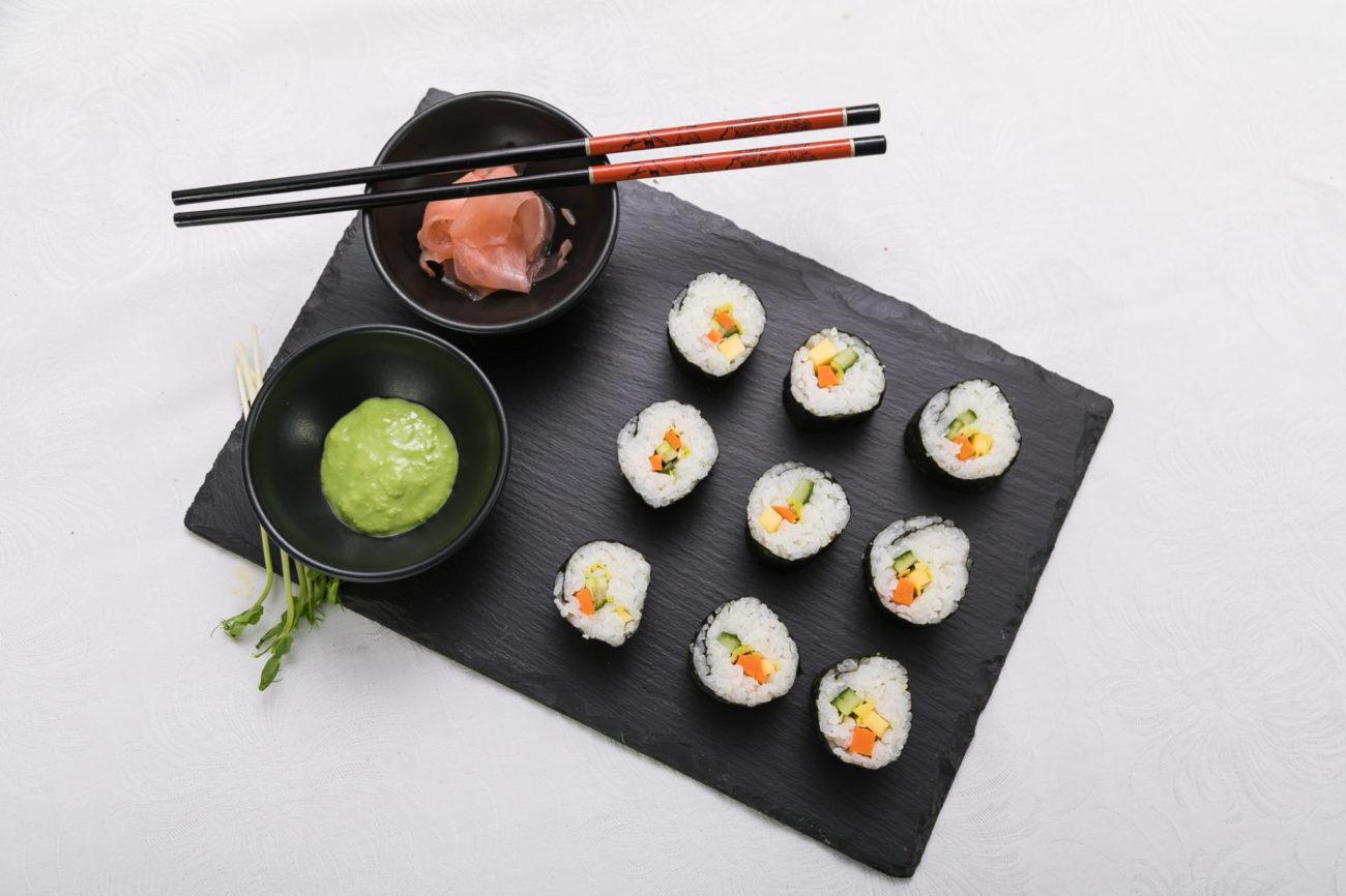 Sushi s mangem