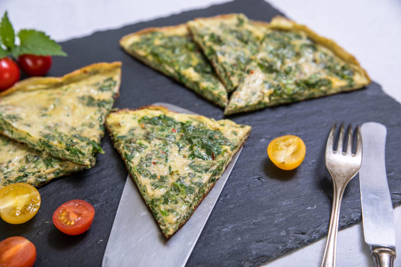 Omeleta s kopřivami
