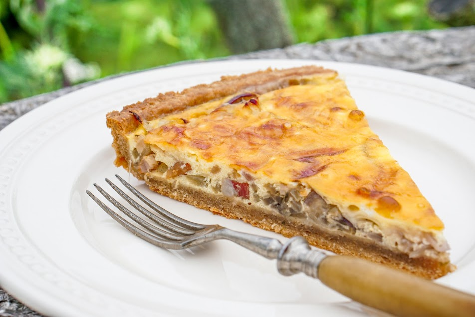 Quiche Lorraine – lotrinský slaný koláč