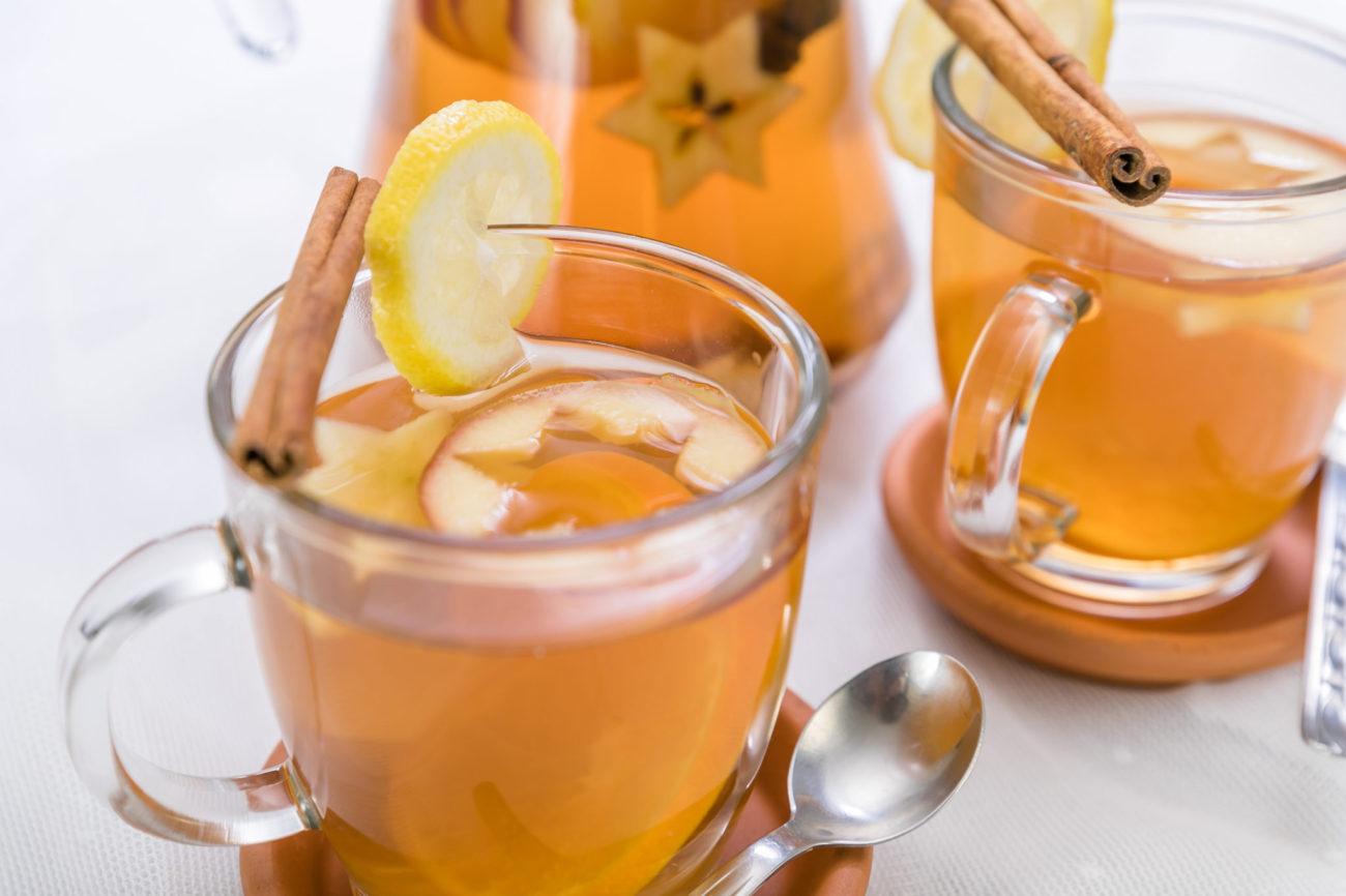 Vánoční kořeněný čaj