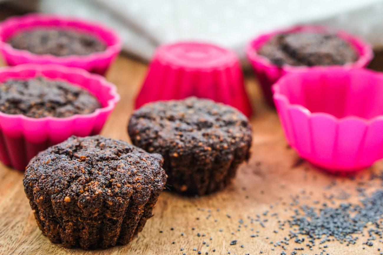 Makové muffiny bez mouky