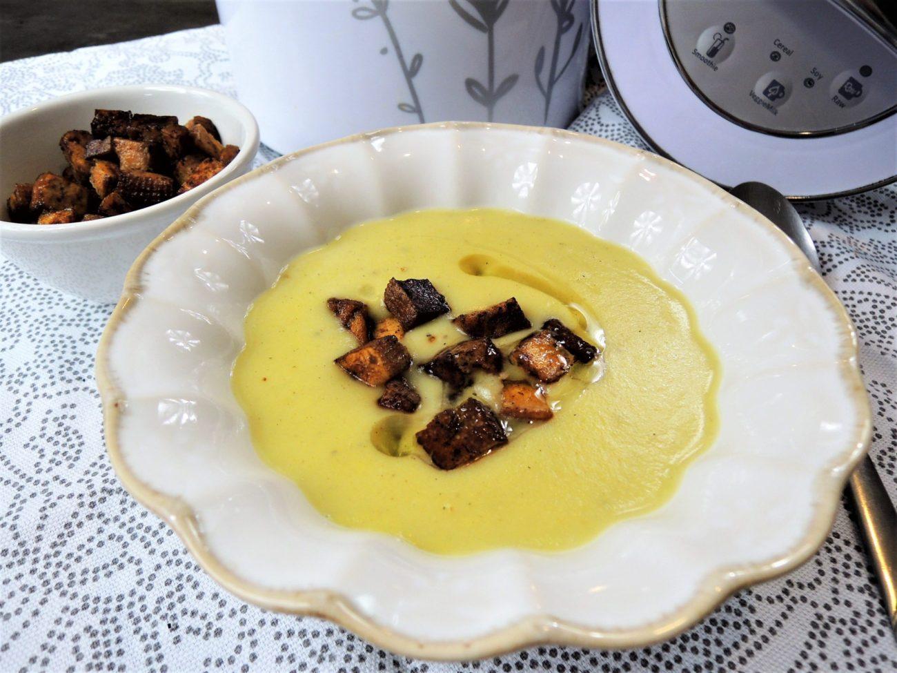 Kapustová krémová polévka