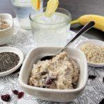Zdravá jogurtová snídaně