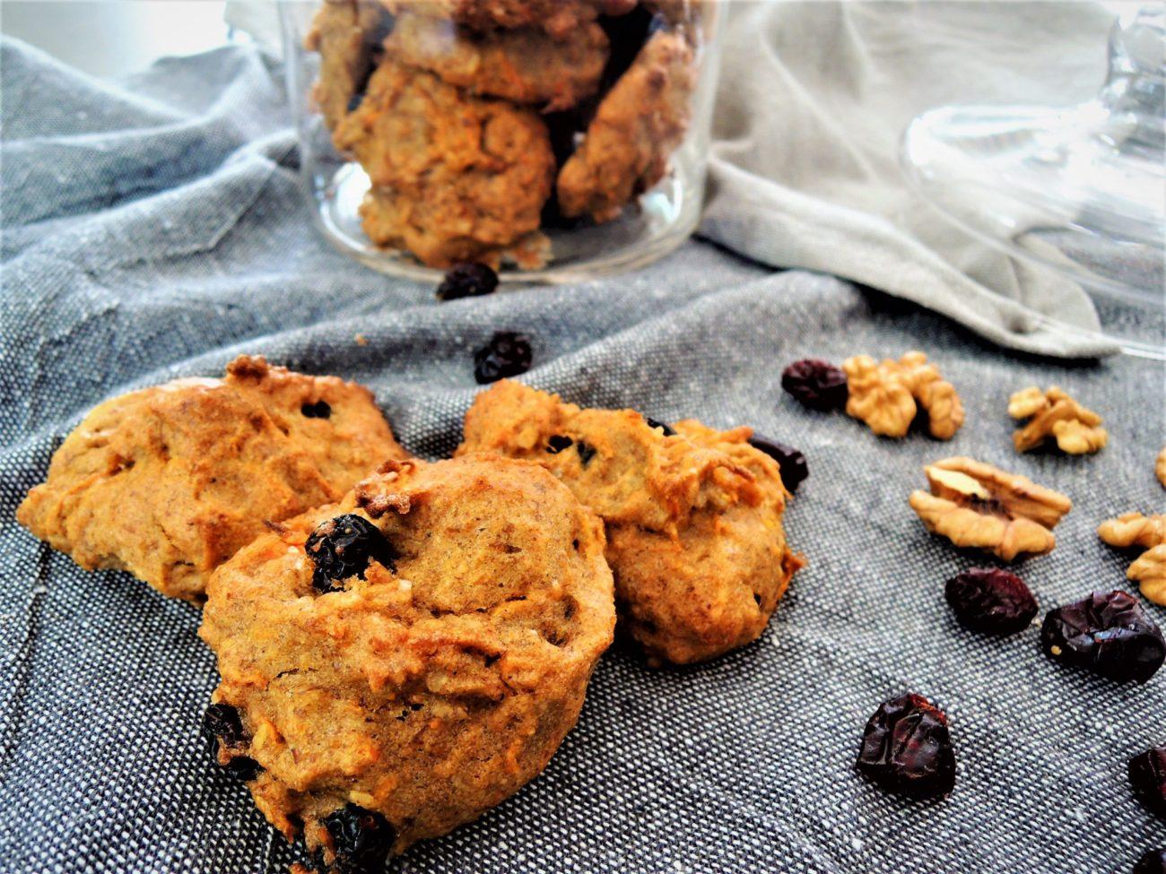 Mrkvové veganské sušenky