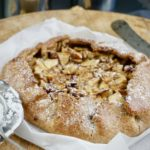 Jablečná galetka a koláčky z lineckého těsta